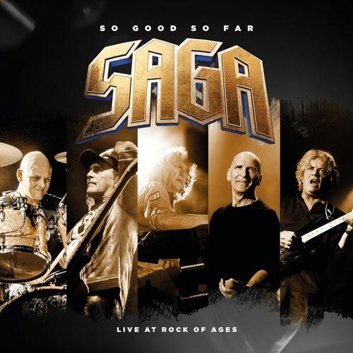 Saga släpper livealbum i september.