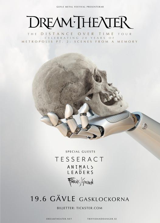 Dream Theater till Gävle juni 2019.