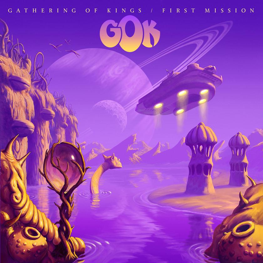 Gathering Of Kings debutalbum ute januari 2019.