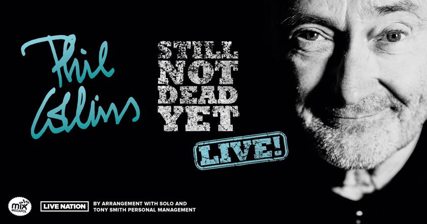 Phil Collins – Not Dead Yet tour 2019 med ett svenskt stopp.