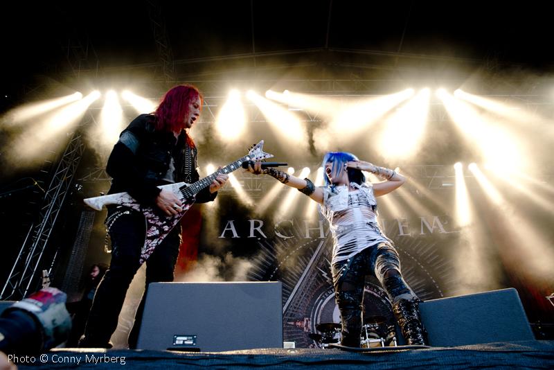 Arch Enemy – Getaway Rock Festival 7/8-2014