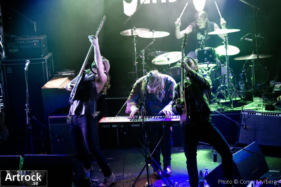 Bend Sinister – Sticky Fingers/Göteborg 21/11-2014