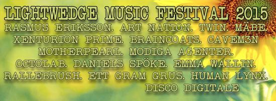 Lightwedge music festival 2015