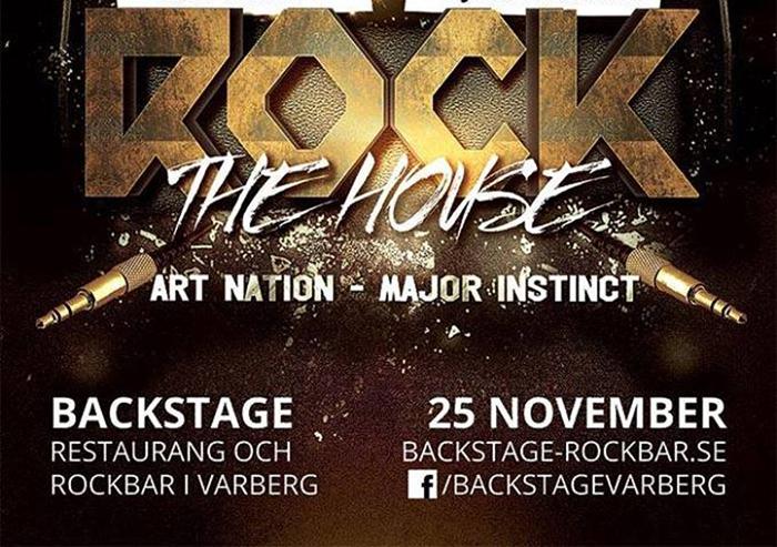 Setlists ligger ute från Backstage med Art Nation, Major Instinct och Bulletrain