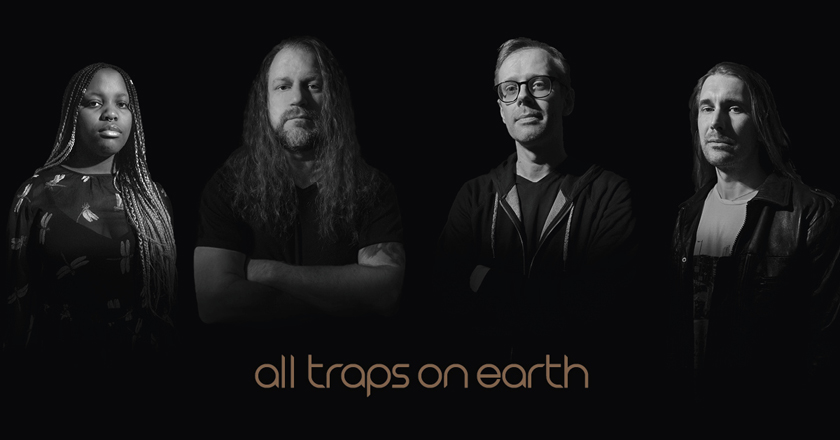 "All Traps on Earth – nytt projekt från Johan Brand ""Änglagård""."