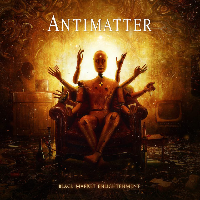 Antimatter – nya plattan Black Market Enlightenment släppt.